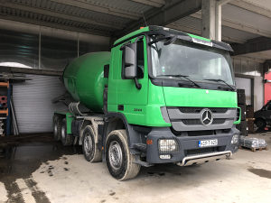 Actros 32 44 2010 10m3 STETTER
