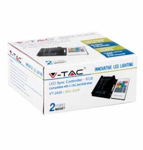 Daljinski kontroler RGB LED trake SKU-3339 V-TAC