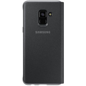 Samsung Galaxy A8 Neon Flip Cover Black