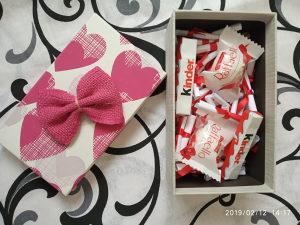 101 Poruka Za Djevojku sa FERRERO KINDER Čokoladicama