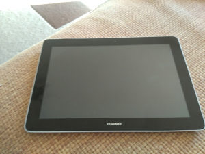Huawey tablet