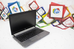 Laptop HP 430 G2; Celeron 3205U; 4GB RAM; SSD: 120GB