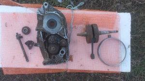 Motor MZ 250 dijelovi