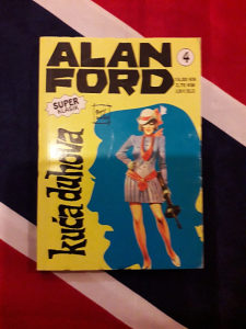 Alan Ford, br. 4 (super klasik)