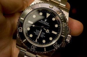 Rolex Submariner 114060 Oyster Steel Black