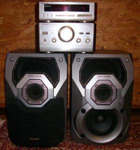 Technics SE-HD81 i Panasonic zvucnici SB-AK27