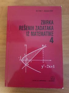 Zbirka zadataka iz matematike 4
