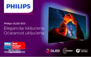 """Philips OLED 4K 65"""" PREMIUM 65OLED804/12 UHD TV Android"""