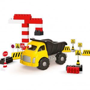 AKCIJA! Kamion sa kockicama dolu,igračke