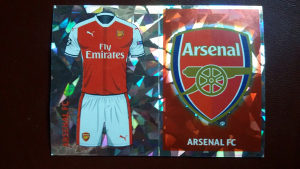 Slicice Liga prvaka - Arsenal Dres i Grb