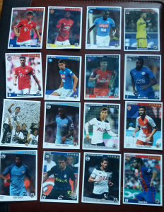 Slicice Fudbaleri 1- Football Stars Stickers 16 komada