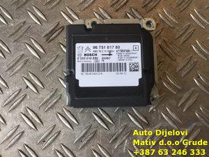 Procesor centrala jastuka Peugeot 5008 9675181780