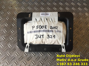 Jastuk airbag table Peugeot 5008 2009-2014