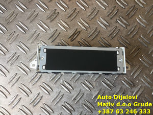 Displej radio ekran Peugeot 2012. 9678491880-01