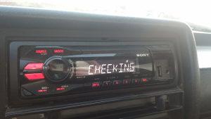 Sony USB/MP3 radio