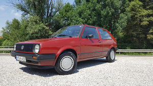 VW Golf 2 1.6 benzin plin fabricko stanje!!!