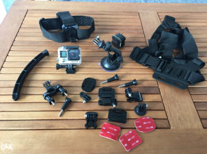 GoPro Hero 4 Black Edition 4K Full Oprema