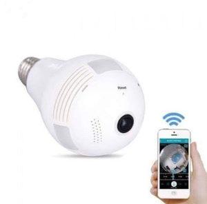Sijalica sa špijunskom IP kamerom