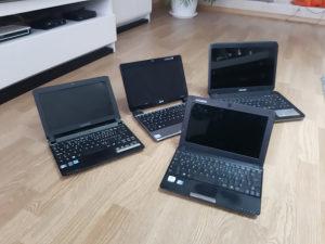4 laptopa,ispravne maticne ploce