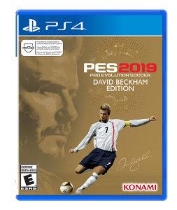 PES 2019 Pro Evolution Soccer David Beckham PS4