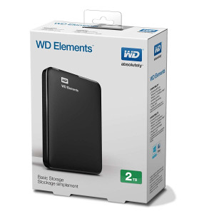 Western Digital 2TB EKSTERNI HARD DISK WD Elements