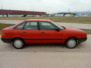Audi 80 benzin plin