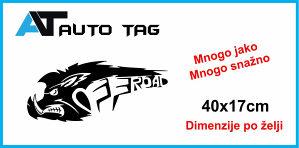 Stikeri i auto naljepnice/ naljepnica OFF ROAD za vozilo