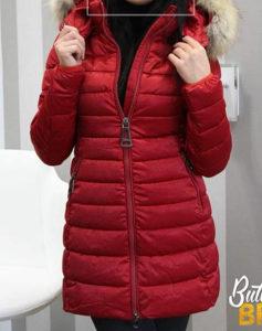 Zenska jakna sa prirodnim krznom M vel.