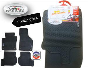 Auto patosnice GUMENE TIPSKE RENAULT CLIO 4