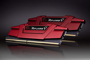 G.SKILL 16GB Ripjaws V Red DDR4 3600MHz CL19 KIT