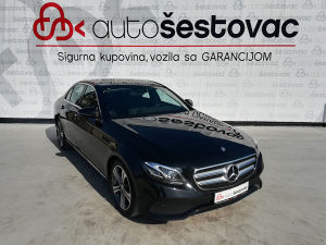 MERCEDES-BENZ E220 2017g. AVANTGARDE WIDESCREEN