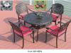 Komplet stol i stolice 4014