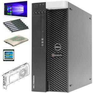 AKCIJA ! DELL T3610 WORKSTATION -INTEL XEON NVIDIA SSD