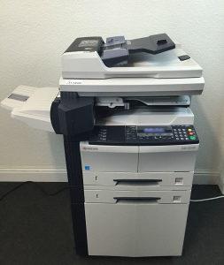 KYOCERA KM-2550 kopir-print-scan-fax aparat