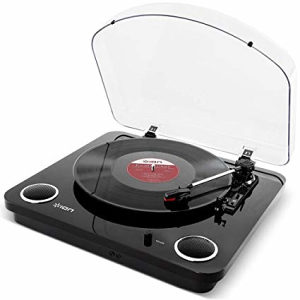 Ion Max LP 3-Speed Conversion Turntable w/Stereo