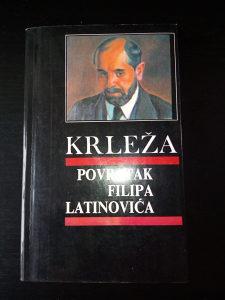 Knjige Miroslav Krleža; Povratak Filipa Latinovića