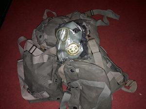 Vojna oprema JNA. Gas maska maske MC1 Citajte detaljno.