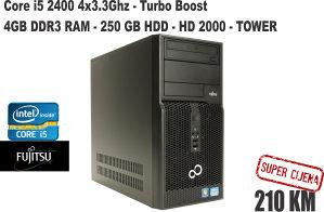 Računar i5 2400 3.3GHz/4 DDR3/TOWER