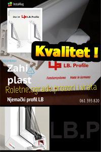 Njemacki PVC prozori i vrata (roletne ograde)