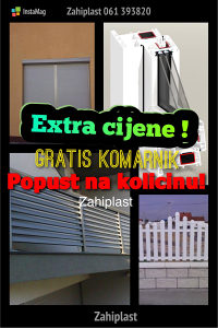 PVC prozori vrata Alu roletne