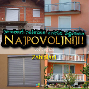 Alu Roletne (PVC prozori vrata ograde garazna)