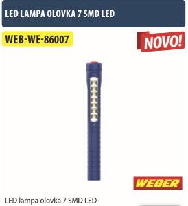LED LAMPA OLOVKA 7 SMD LED WE-86007