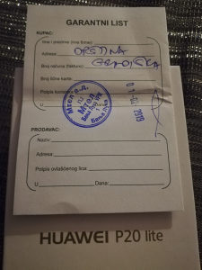 HUAWEI P20 LITE // ZAMJENA