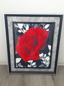 Slika crvena ruza