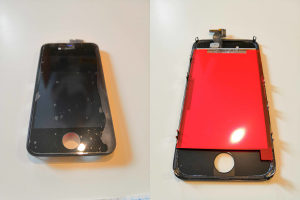 Displej display Iphone 4S crni