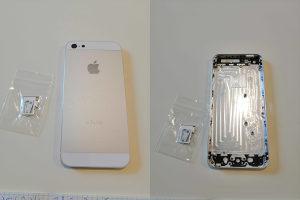 Kuciste za Iphone 5 silver