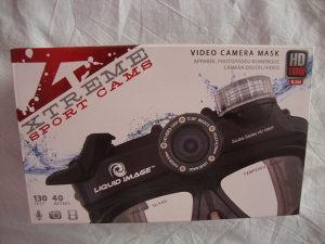 Podvodna FOTO i HD video kamera 1080p,maska za ronjenje