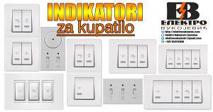Indikator/Indikatori prekidač/sklopka za kupatilo
