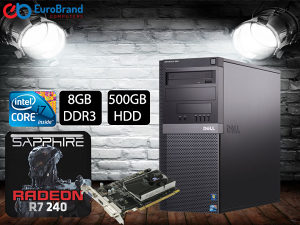RAČUNAR i7-860 8GB DDR3 ATI Radeon R7 240 1GB