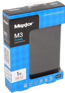 "Eksterni hard disk 1TB SEAGATE/MAXTOR HDD 2.5"""